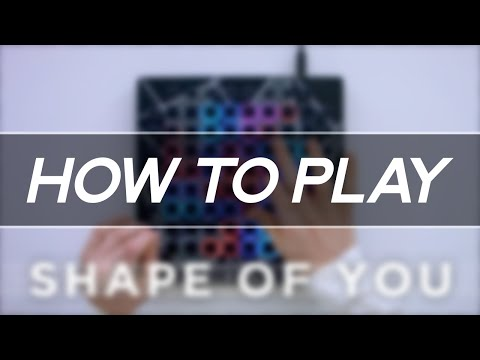 Ed Sheeran - Shape Of You (Ellis Remix) // Launchpad Tutorial