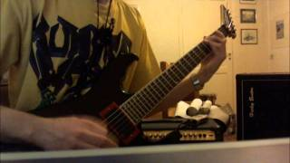 Womb Full of Scabs - Disgorge (guitar cover)