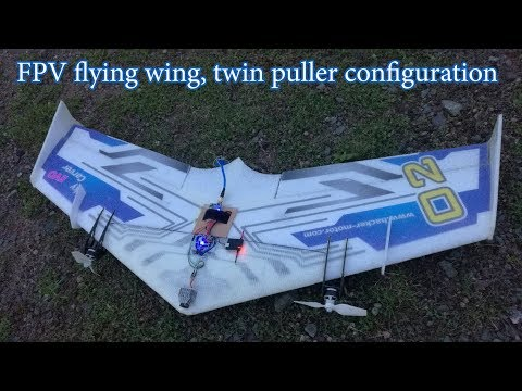 fpv-flying-wing-twin-puller-with-flight-controller