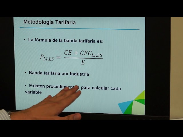 ARESEP explica actualización de banda tarifaria para proyectos de energía ..