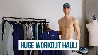 Huge Workout Haul For 2020 | Gym Clothes For Men | Gymshark, Nike, Under Armour, Alo Yoga, Adidas
