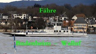 preview picture of video 'Schiersteiner Brücke kaputt - zur Not fährt TheBINcam Fähre'