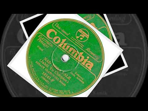 Polish 78rpm recordings. 1926, Columbia 18141. Jadą Ułani