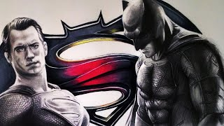 Batman V Superman Drawing - FAN ART FRIDAY + ART AMINO
