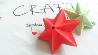 DIY - Cách xếp ngôi sao giấy - Origami