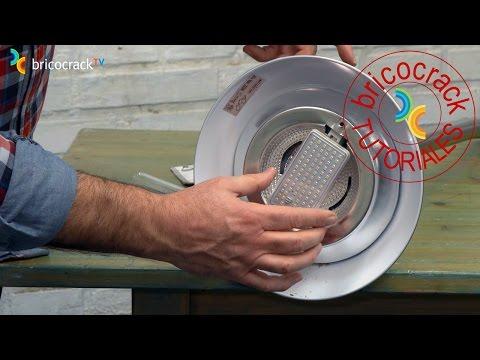 Cambiar por LED lámpara de pie halógeno (Bricocrack)
