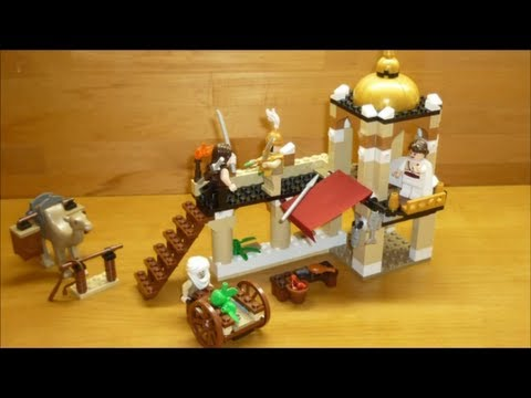 Vidéo LEGO Prince of Persia 7571 : Le combat pour la Dague du Temps