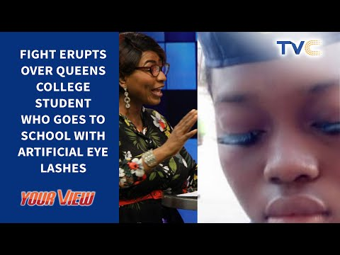 Mum Fights Queen's College Over Daughter's Eyelashes