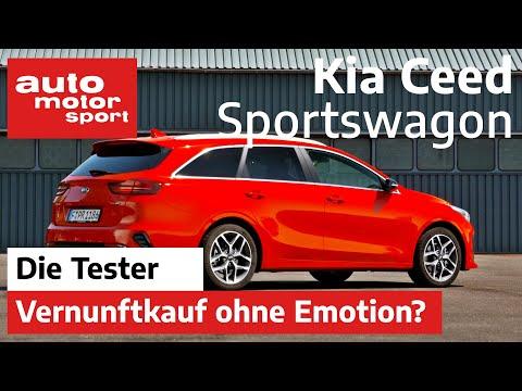 Kia Ceed Sportswagon: Vernunftkauf ohne Emotion? - Test/Review | auto motor und sport