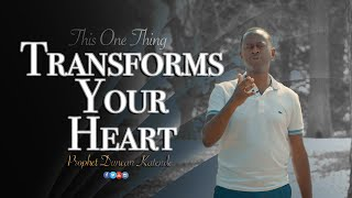 "This One Thing (""The Shema"") Transforms Your Heart - A Prophetic Word."