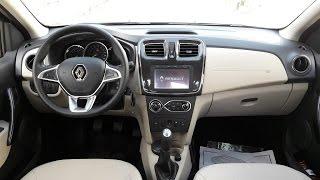 Actuoto: Renault Symbol restylée à Tunis (2/3), L'intérieur رونو سامبول 2017