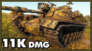 M48A5 Patton - 11578 Damage - World of Tanks Gameplay