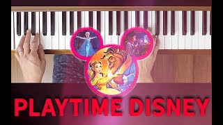 A Spoonful of Sugar {Mary Poppins} (Playtime Disney) [Easy Piano Tutorial]