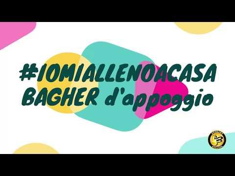 Preview video #iomiallenoacasa #bagher d'appoggio