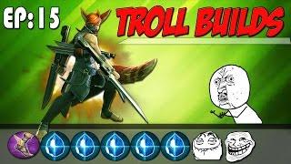 All Shatterglass Taka - The Damage! | Vainglory Troll Build Ep. 15