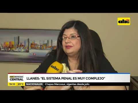 Llanes: el sistema penal es muy complejo