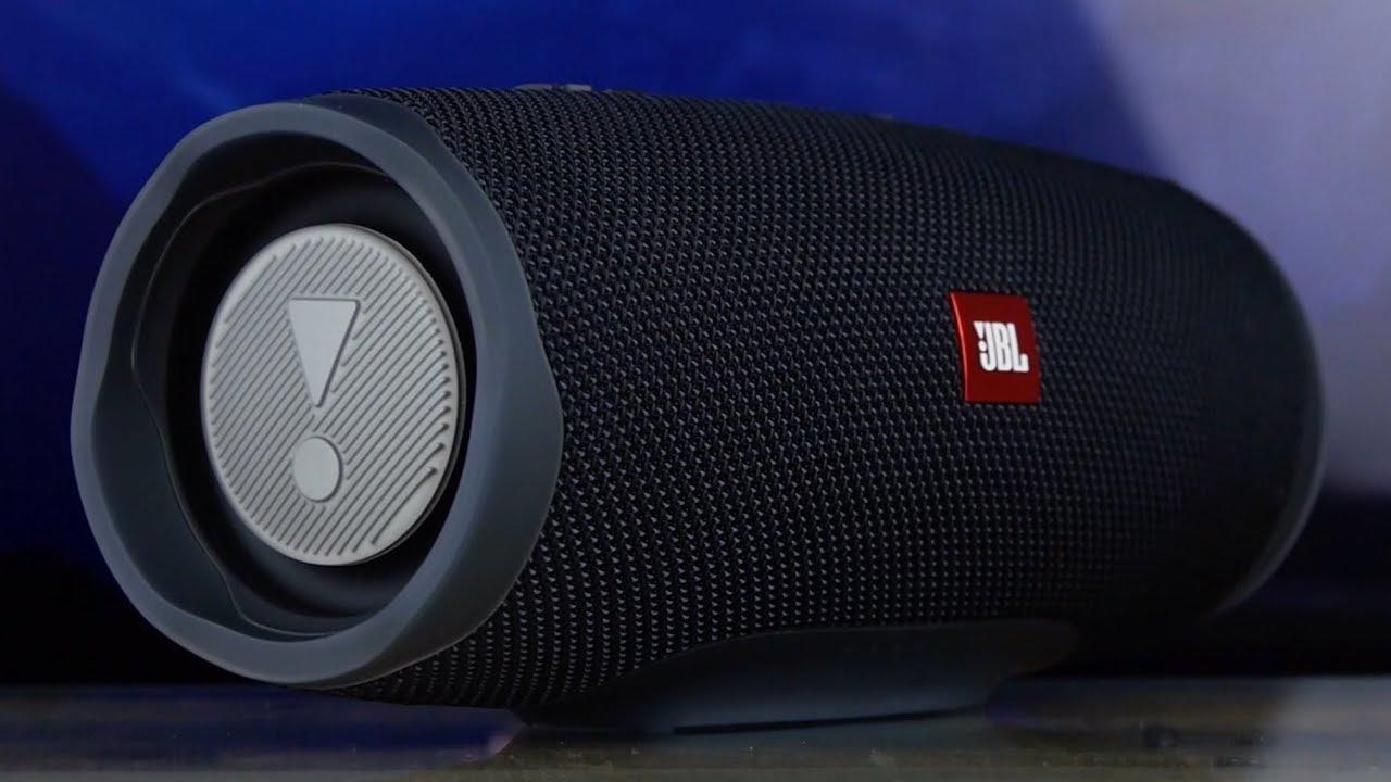 Влагозащищенная акустика JBL Charge 4 (Fiesta Red) JBLCHARGE4REDEU video preview