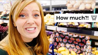 How Much Do Groceries Cost In England?