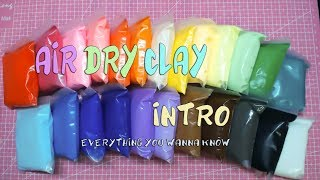 34】Air Dry Clay Introduction & Comparison【lovely4u】