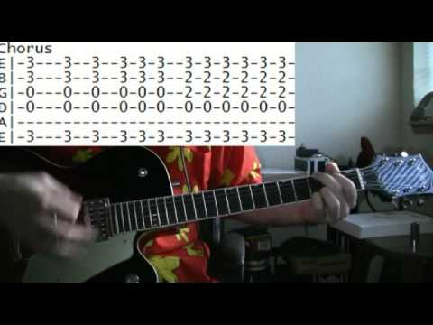 guitar lessons online Jane's Addiction jane says tab