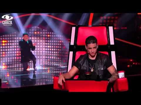 Juan Felipe cantó 'Un siglo sin ti' de Chayanne – LVK Colombia – Audiciones a ciegas – T1