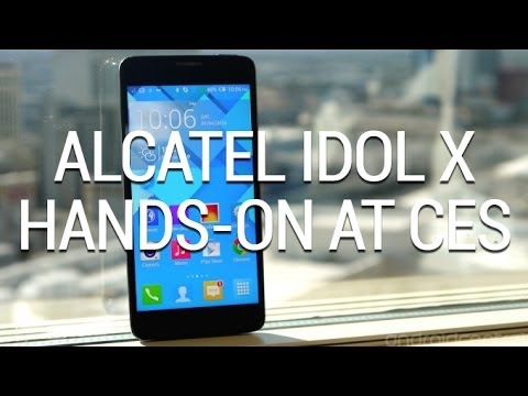 Hands-on with the Alcatel OneTouch Idol X+
