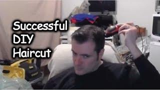 Successful DIY Haircut Using Hair Clippers