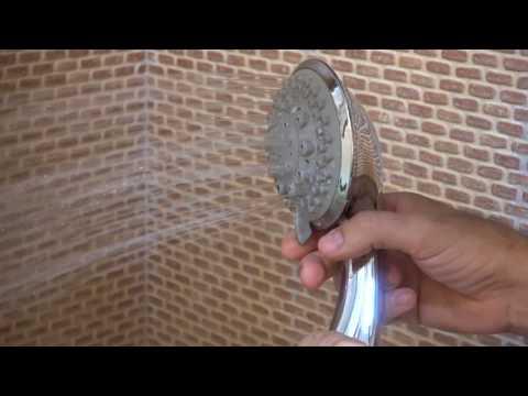 Alcachofa de ducha de mano con 7 funciones
