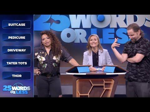 25 Words or Less: EP. 28 Alison Sweeney, Tisha Campbell-Martin, Jamie Kennedy, Penn Jillette
