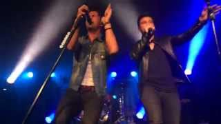 Dan and Shay- Somewhere Only We Know 10/15/14
