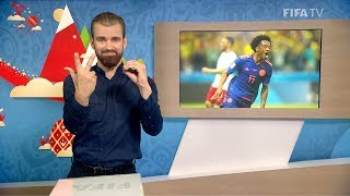 FIFA WC 2018 - POL vs. COL – for Deaf and Hard of Hearing - International Sign