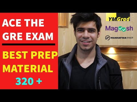 Top 5 Study Material for GRE preparation to get 325 on your GRE Test || GRE 320+