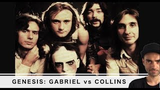 GENESIS con Peter Gabriel VS. Phil Collins