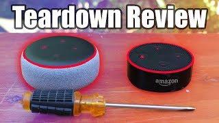 All-new Echo Dot (3rd Gen)  vs (2 Gen) teardown Review