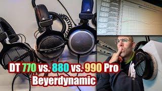DT 770 vs. DT 880 vs. DT 990 Pro Vergleich + Review