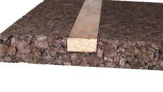 panneau isolant de li ge expans amorim corkisol bords droits 50x100cm r 0 5 au. Black Bedroom Furniture Sets. Home Design Ideas
