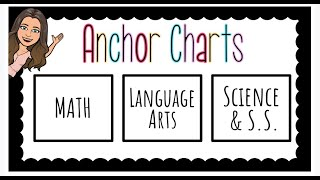 Virtual Anchor Charts
