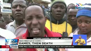 Shock as man's throat slit open in Kitengela - VIDEO