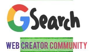 Google Web Creator Community || Blog.Google.com ||Telugu Instant News #mdevegowda