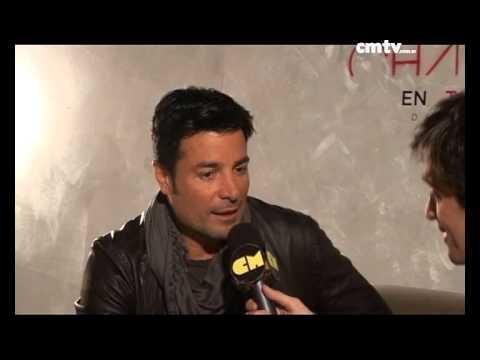 Chayanne video Entrevista en Argentina - Entrevista CM 2014