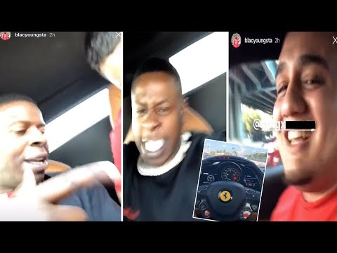 Blac Youngsta STOLE a FERRARI from a fan he met on Instagram