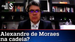 Advogado pede prisão de Alexandre de Moraes por crime de tortura
