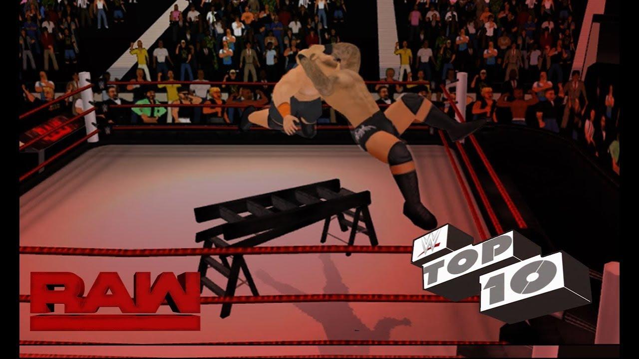 Top 10 Extreme RKOs - Randy Orton   WR3D