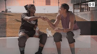 Candace Parker, Carmelo Anthony Surprise Brehanna Daniels, the 1st Black Woman on a NASCAR Pit Crew