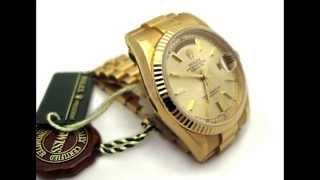 Rolex Day-Date President In 18K Gold On Jubilee Bracelet 118238 M Series