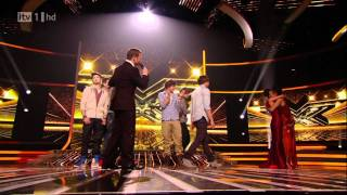 The X Factor 2010  Final Results  One Direction Leaves The X Factor HD