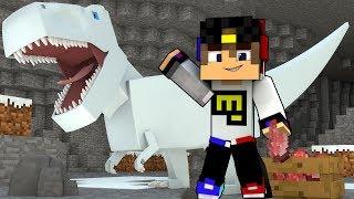Парк Юрского Периода мод Видео Выживание Майнкрафт ПЕ Minecraft PE #для детей #мультик игра и Дети