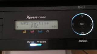 Samsung Express SL - C480W / TEG Laserdrucker, Kopierer, Scanner / print, copy, scan