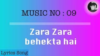 Zara Zara behekta hai | Lyrics with English subtitles. - YouTube