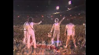 Freddie says goodnight from Wembley Stadium (July 1986)